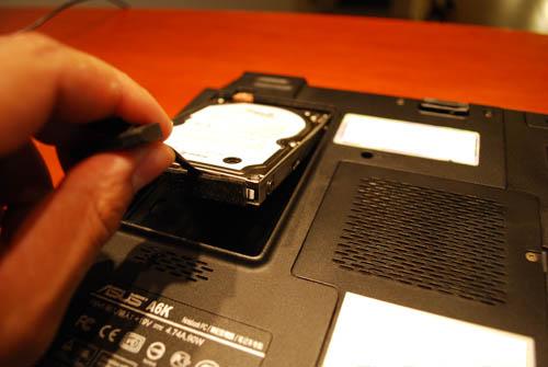 Come sostituire hard disk interno