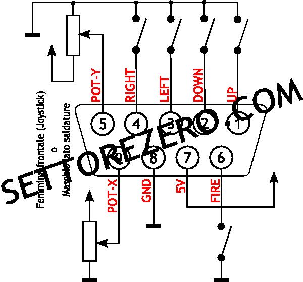 SEGA SC Joystick pinout | Volvoab