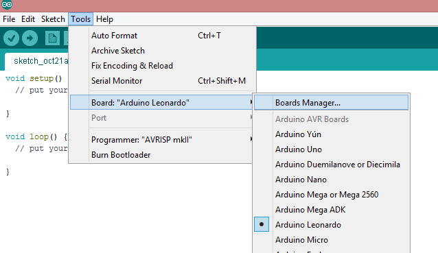 boards_manager_menu