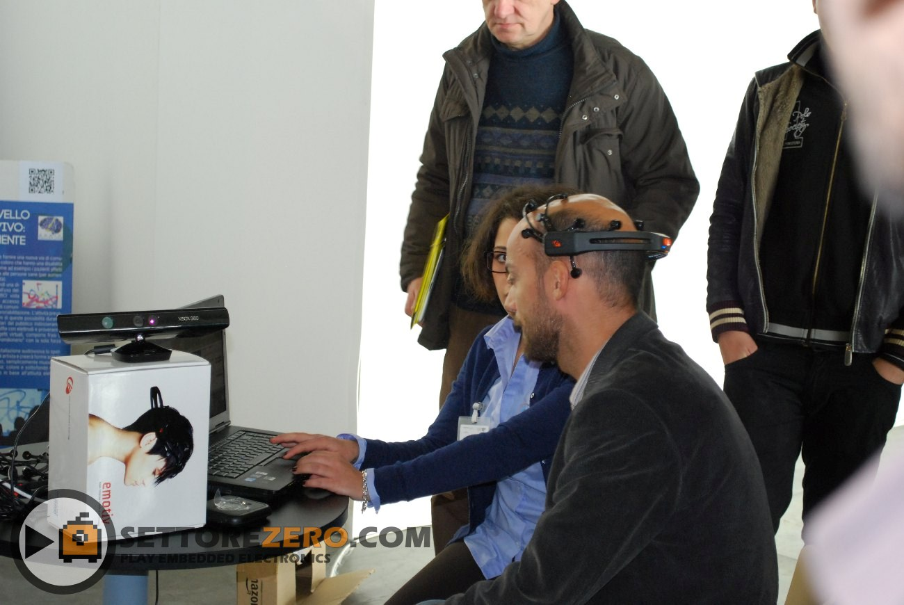 Telecontrollo cn casco neuronale e Kinect