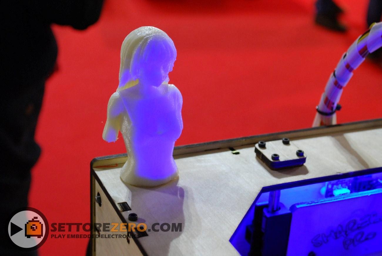 Oggetto realizzato con stampante 3D