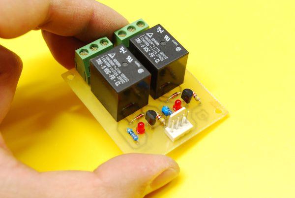 Schema Elettrico Per Rele : Relay board scheda con relè per uso generico settorezero