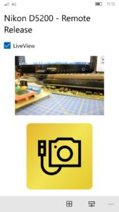 Funzione Live View