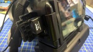 Adattatore Nikon WU-1a su Nikon D5200
