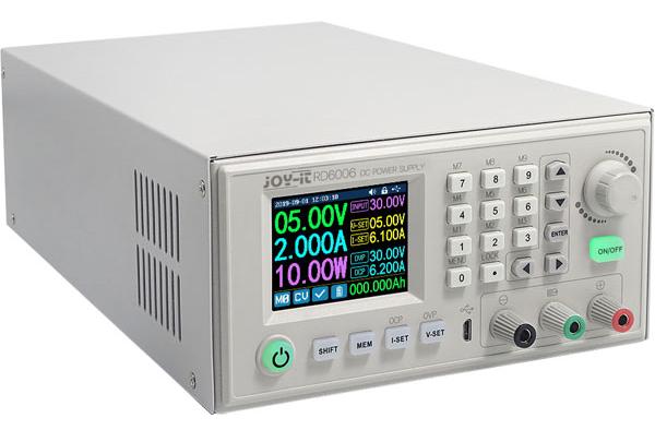 Alimentatore programmabile 60V 6A