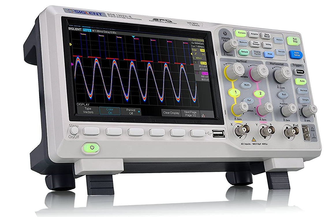 Oscilloscopio Siglent SDS1202X-E