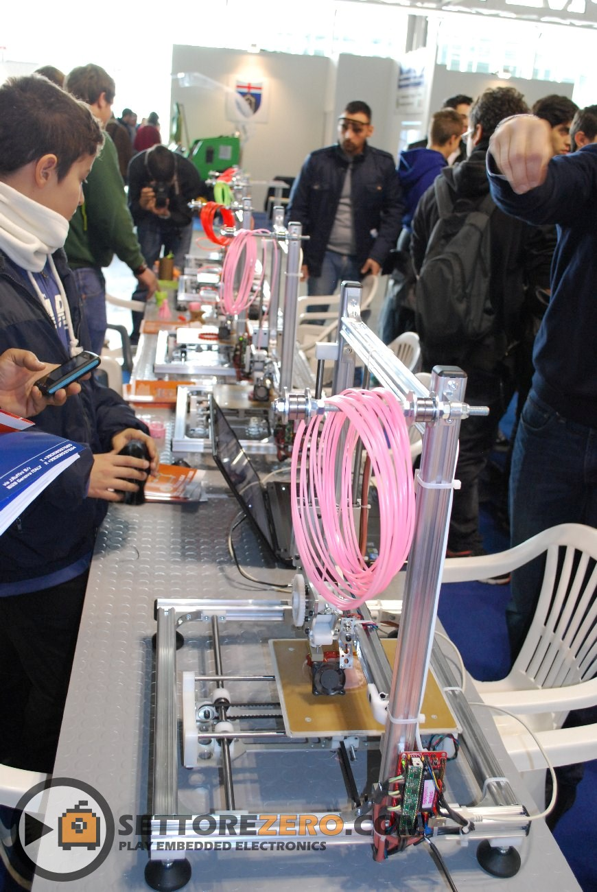 Stampante 3D RepRap by Futura Elettronica