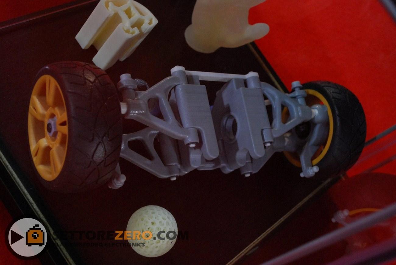 Oggetti realizzati con stampante 3D